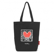 【Packable Tote Bag Keith Haring】