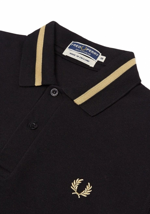 REISSUES SINGLE TIPPED FRED PERRY SHIRT